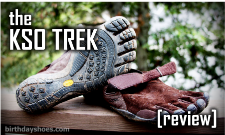 The Vibram FiveFingers KSO Trek review