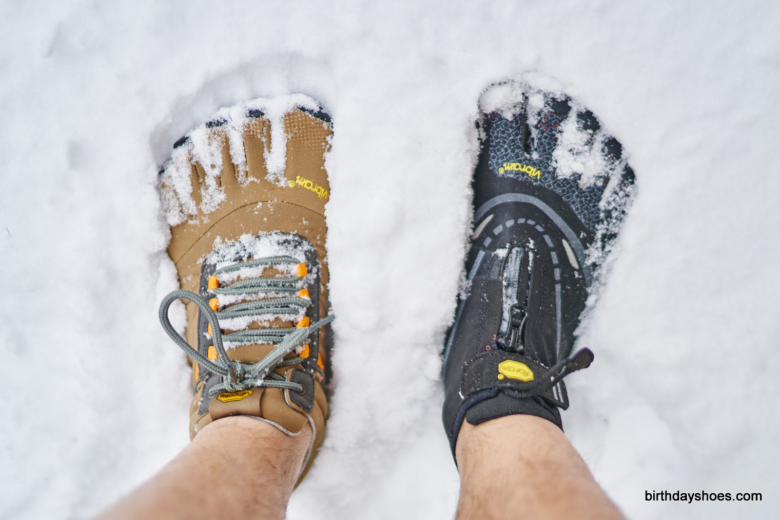 Trek Ascent Insulated vs Bikila EVO WP: The Trek is warmer and more capable, while the WP is truly waterproof, but less flexible and colder