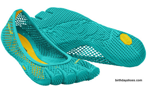 Above is the women's Vi-B FiveFingers.