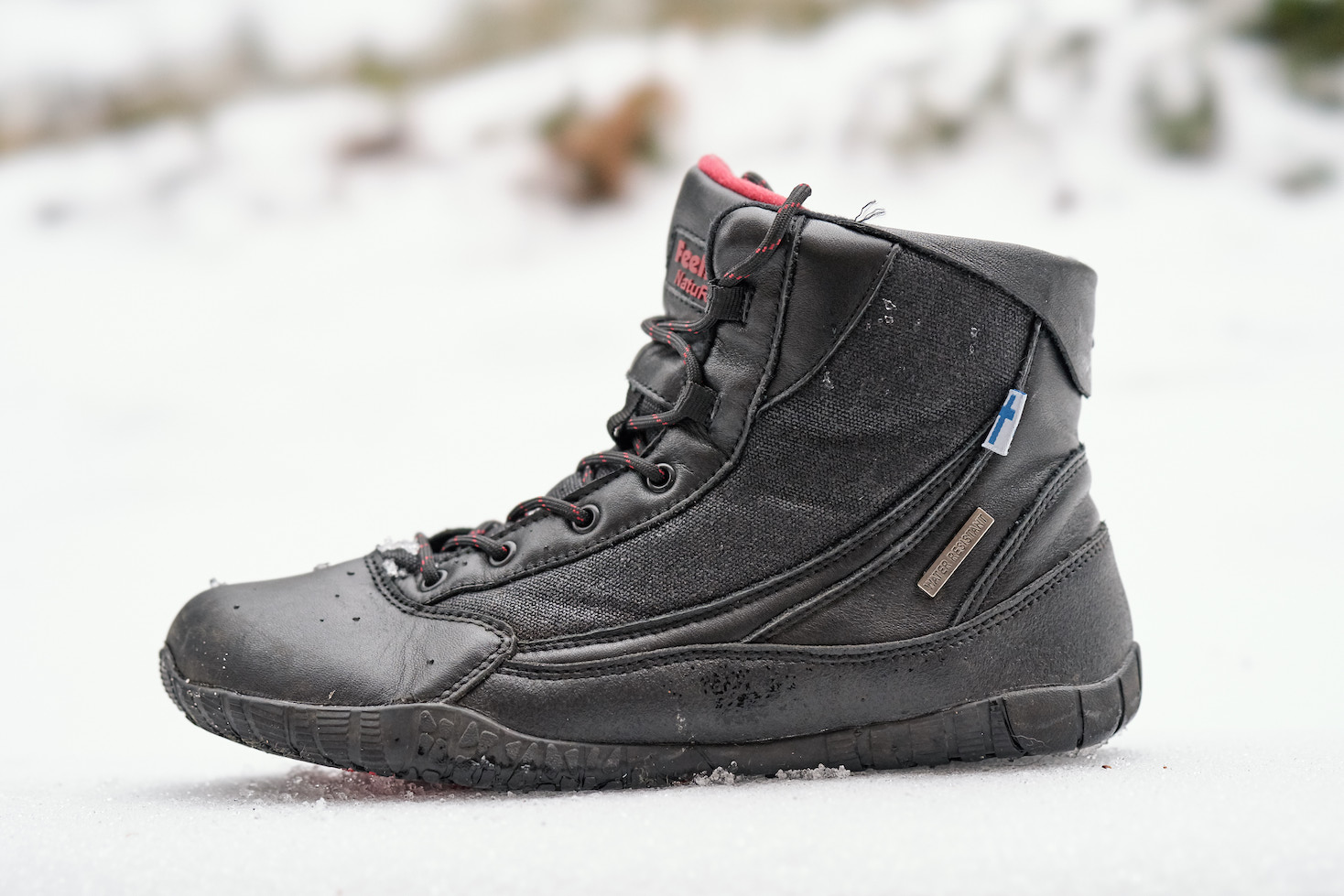 The Kuuva Trek has water-resistant and breathable sections