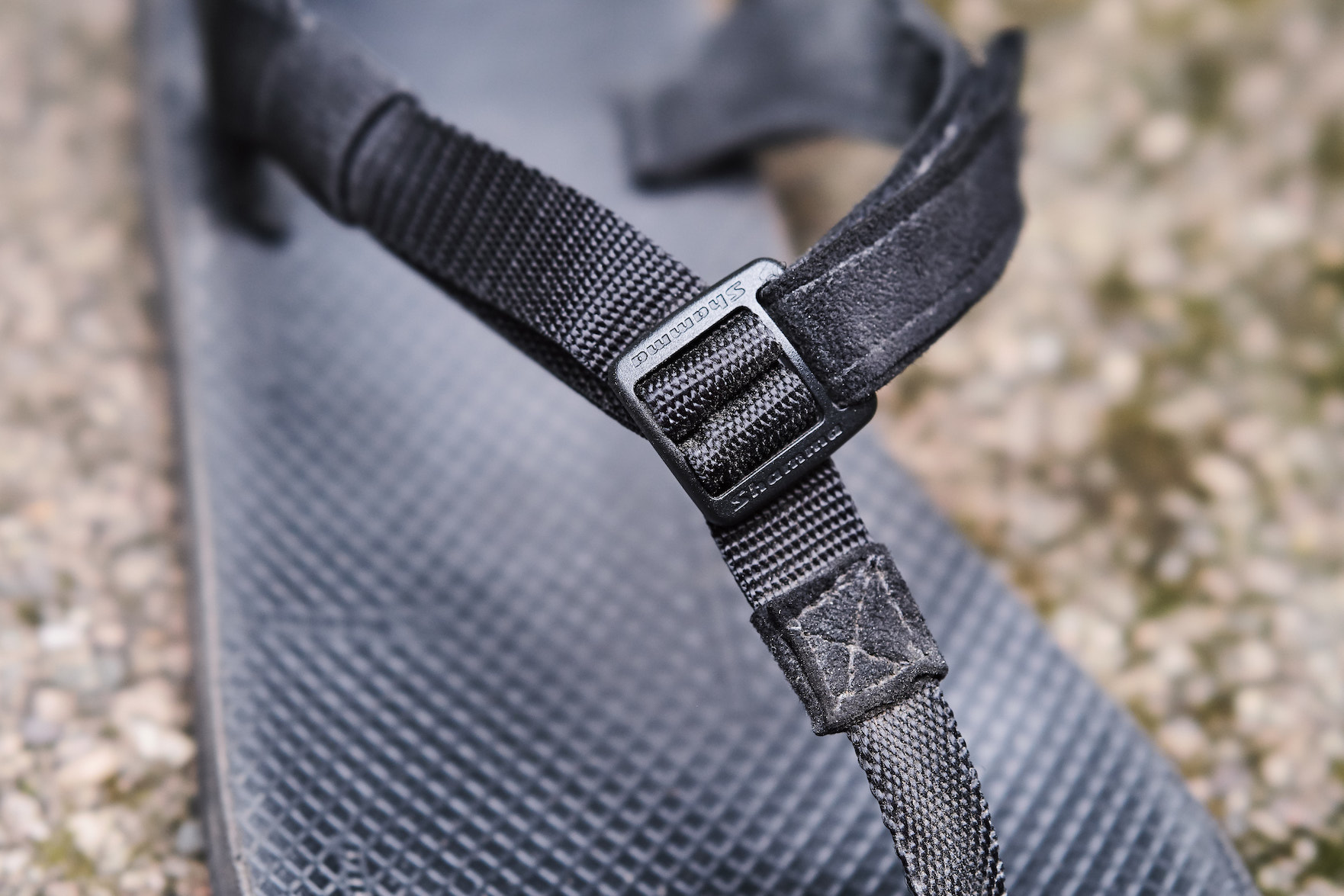 The latest buckle design is more streamlined and adjustable