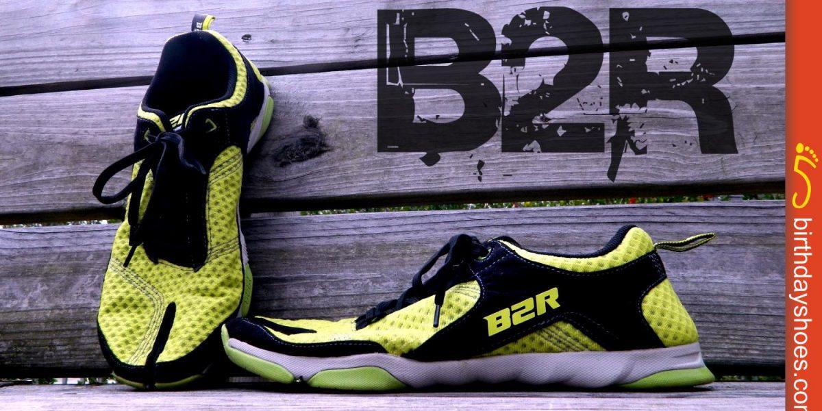 The B2R Split-toe running shoe from Born2Run.