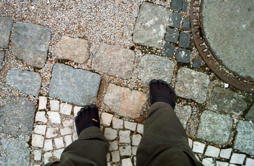 "Brian, ""Berlin is a great city for VFFs with all the different surfaces underfoot."""