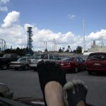 Ellyn and her sister also went to the Cedar Point amusement park in Ohio!