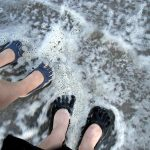 Getting your rubber toes wet in Classic Five Fingers.