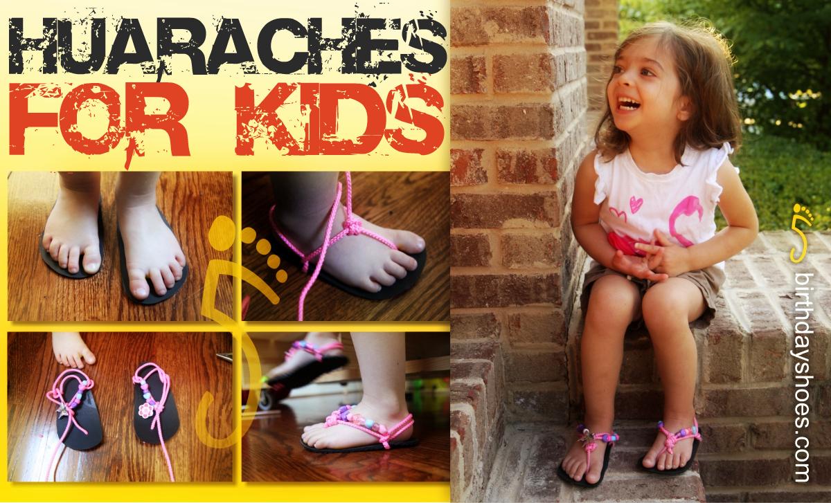 little girls huaraches
