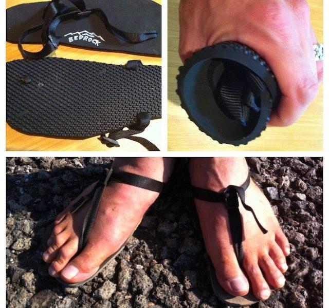 The Bedrock Sandals handled even this rocky terrain