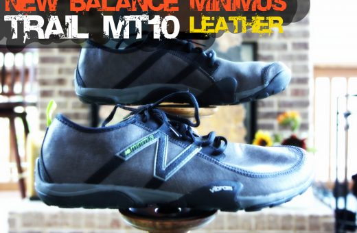 New Balance recently released the popular Minimus MT10 Trail shoe with a leather upper.