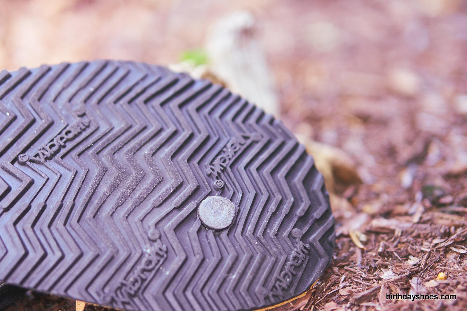Vibram Newflex sole on the Shamma Warriors 2.0