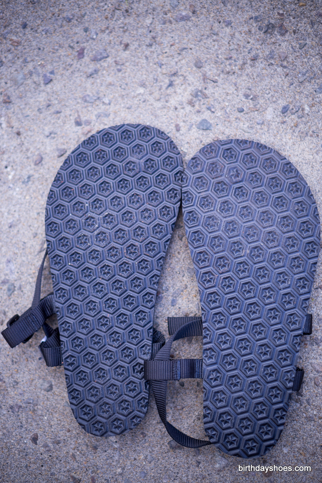 """The 4mm """"Star"""" sole. Note the lack of any exposed anchoring points on the bottom of the sole"""