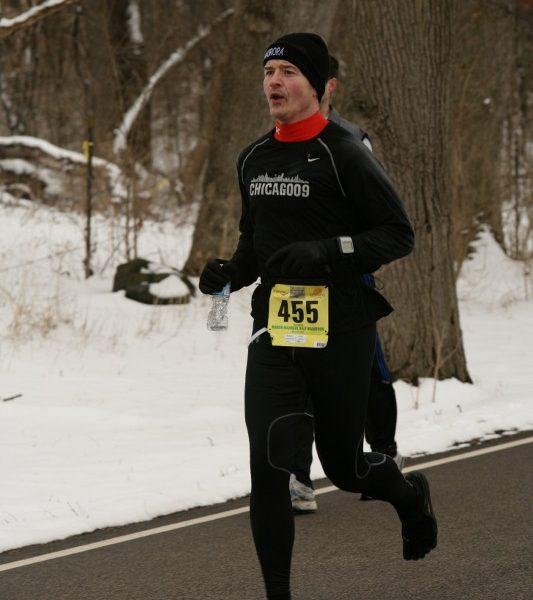 Dave running a half marathon