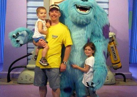 Jason at DisneyWorld