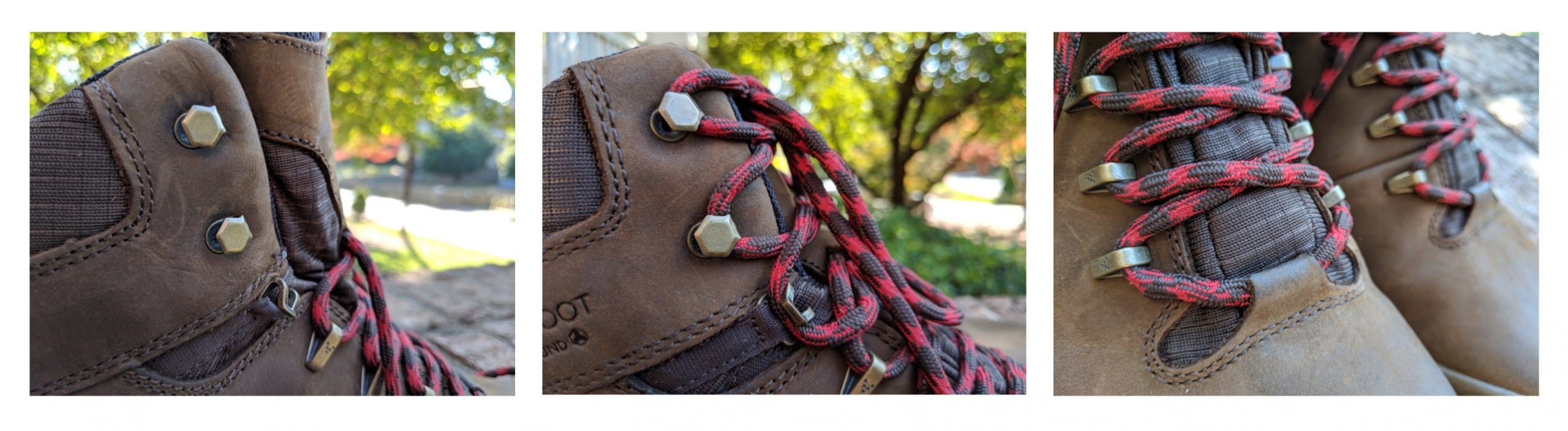 Lacing hooks! Functionally awesome—just not built for speed.