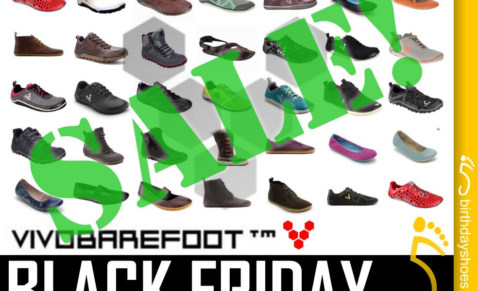 VivoBarefoot Early Black Friday