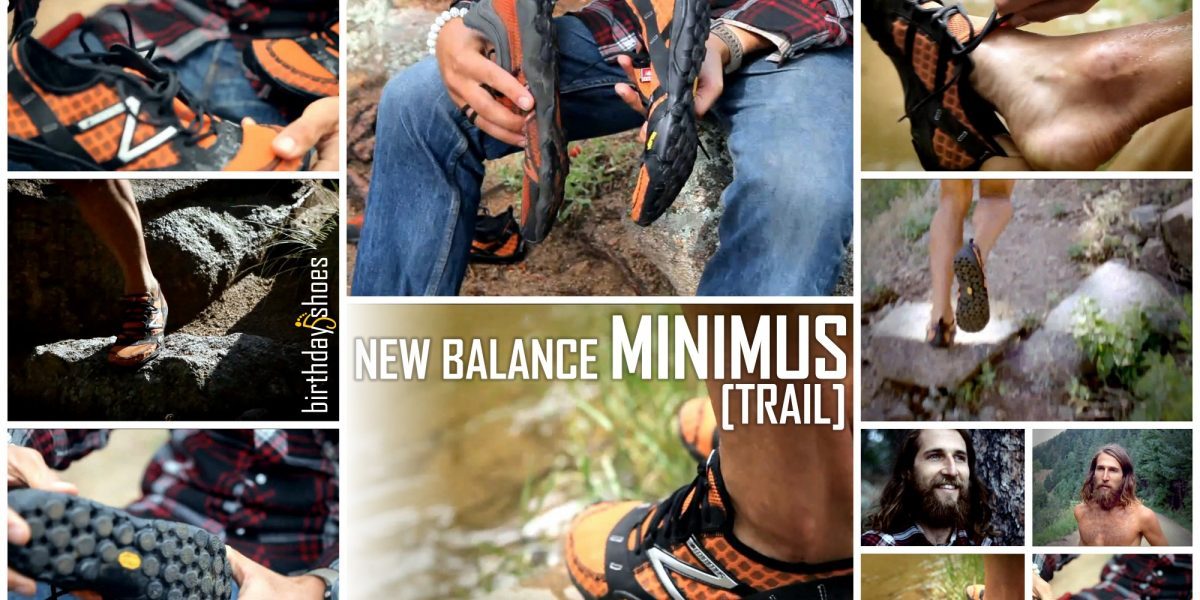 """Screen captures of the New Balance Minimus Trail """"barefoot running shoe"""" set to be released in 2011 by NB. The video these shots were pulled from features ultramarathoner Anton Krupicka."""