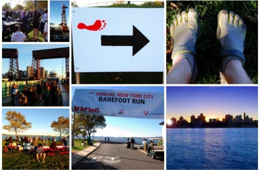 New York City Barefoot Run